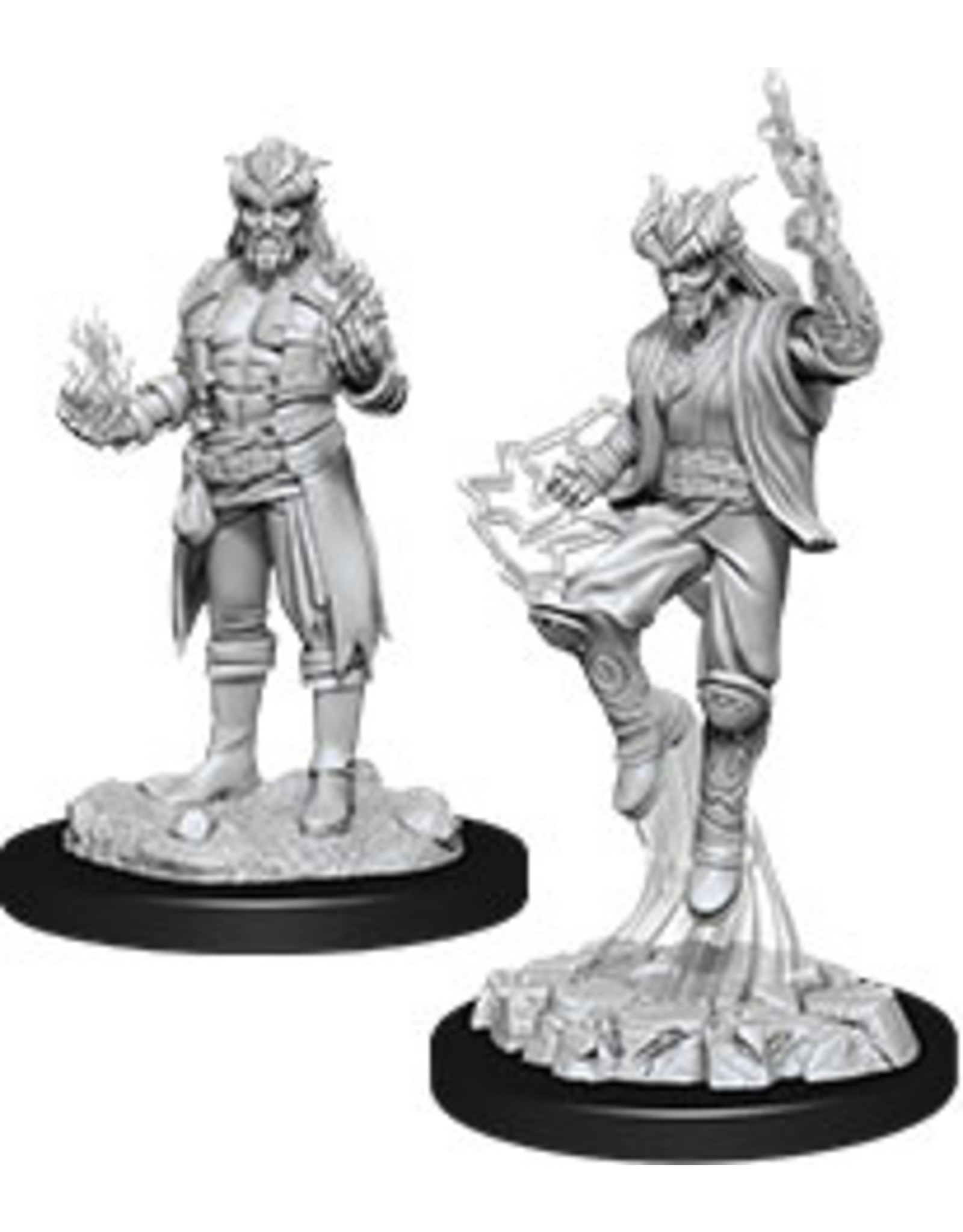 WizKids Dungeons & Dragons Nolzur`s Marvelous Unpainted Miniatures: W12 Male Tiefling Sorcerer