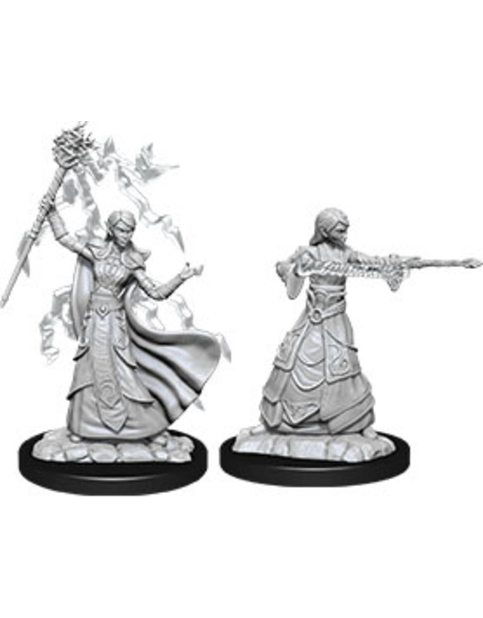 WizKids Dungeons & Dragons Nolzur`s Marvelous Unpainted Miniatures: W12 Female Elf Wizard