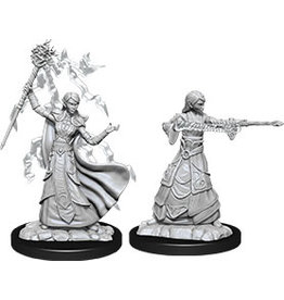 WizKids Dungeons & Dragons Nolzur`s Marvelous Unpainted Miniatures: W12 Female Elf Wizard