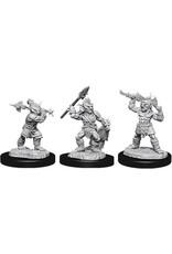 WizKids Dungeons & Dragons Nolzur`s Marvelous Unpainted Miniatures: W12 Goblins & Goblin Boss