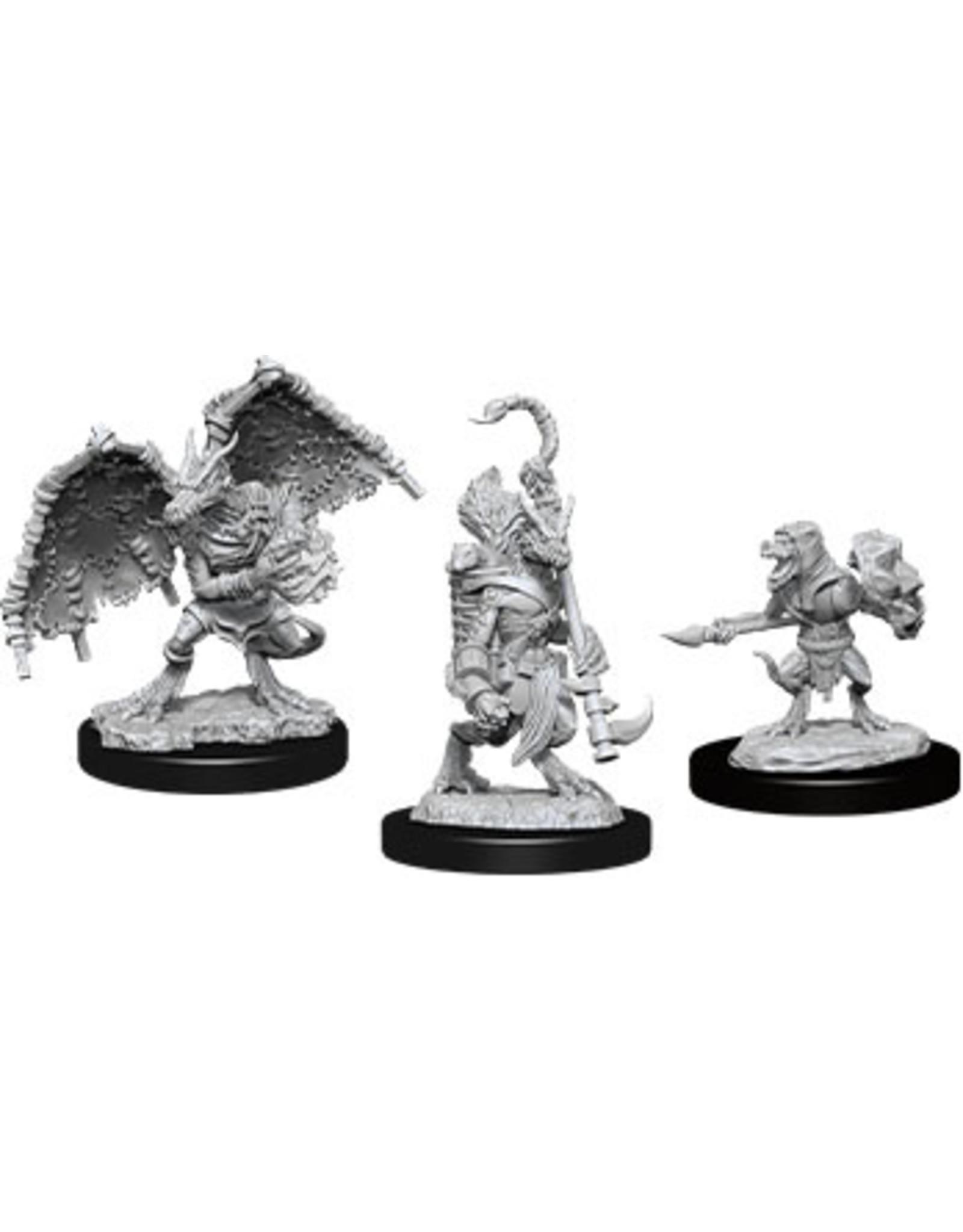 WizKids Dungeons & Dragons Nolzur`s Marvelous Unpainted Miniatures: W12 Kobold Inventor, Dragonshield & Sorcerer