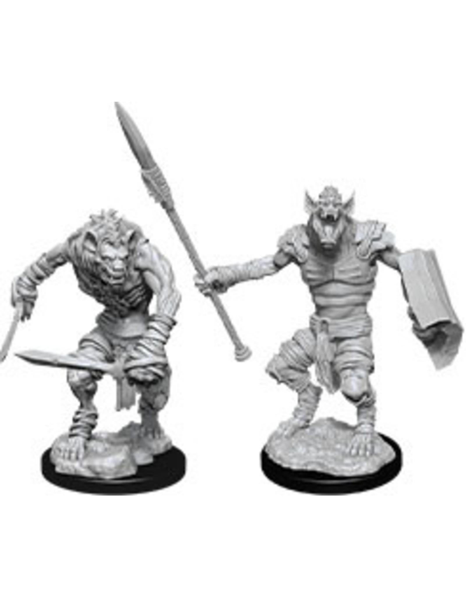WizKids Dungeons & Dragons Nolzur`s Marvelous Unpainted Miniatures: W12 Gnoll & Gnoll Flesh Gnawer