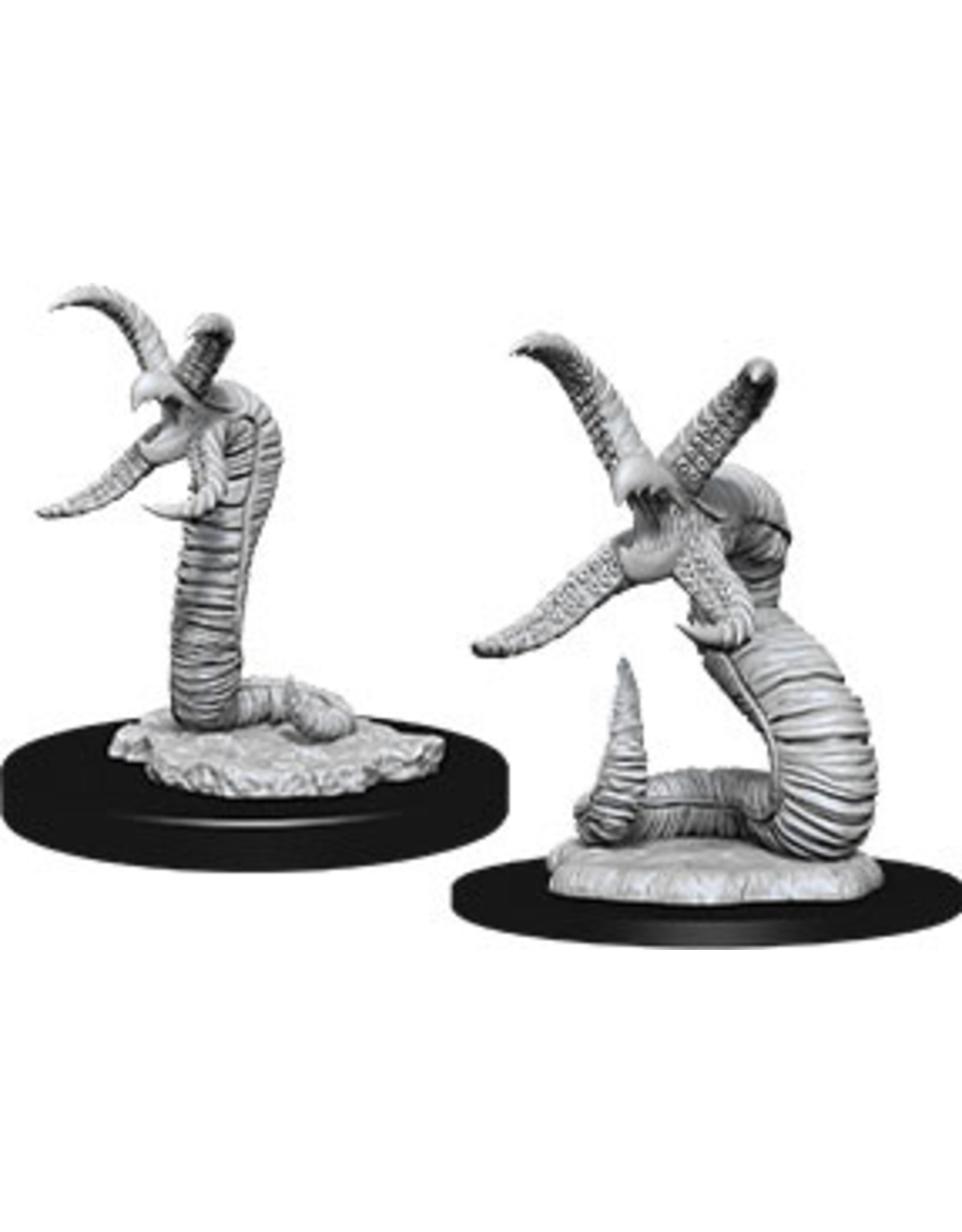 WizKids Dungeons & Dragons Nolzur`s Marvelous Unpainted Miniatures: W12 Grick & Grick Alpha