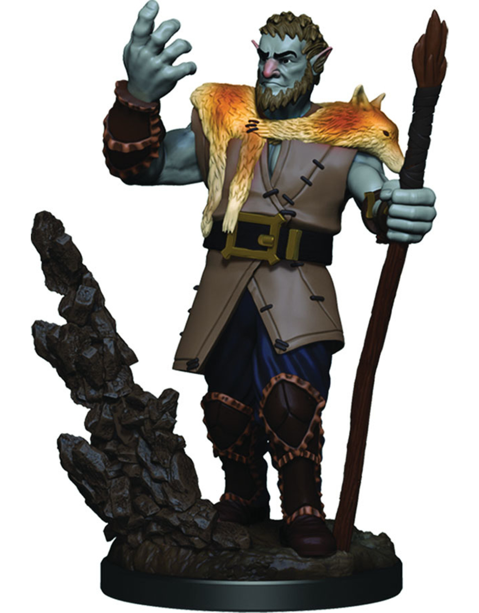 WizKids Dungeons & Dragons Fantasy Miniatures: Icons of the Realms Premium Figures W3 Firbolg Male Druid