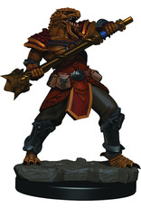WizKids Dungeons & Dragons Fantasy Miniatures: Icons of the Realms Premium Figures W3 Dragonborn Male Fighter