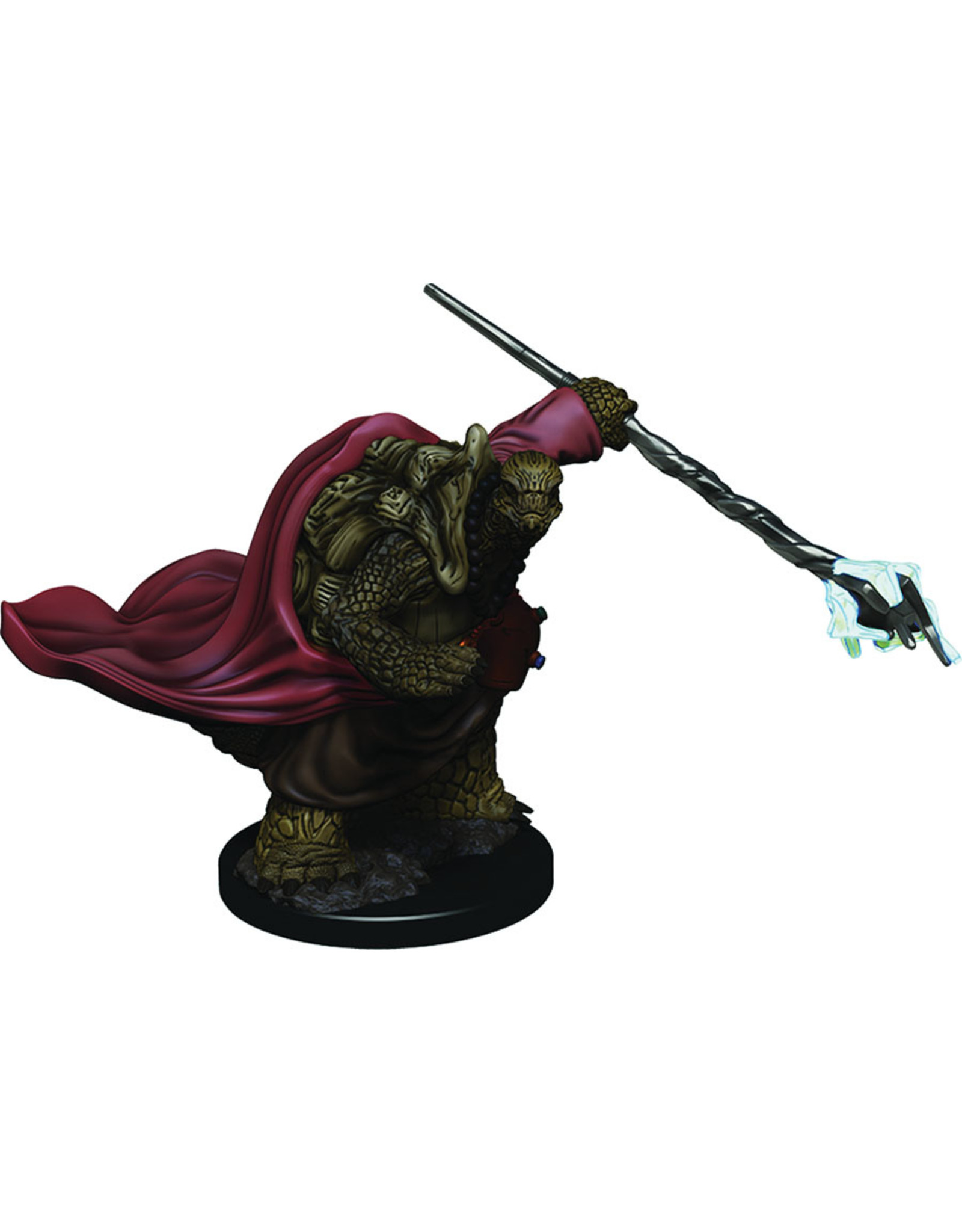 WizKids Dungeons & Dragons Fantasy Miniatures: Icons of the Realms Premium Figures W3 Tortle Male Monk