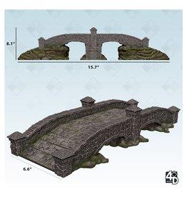 WizKids WZK 4D Settings: Stone Bridge