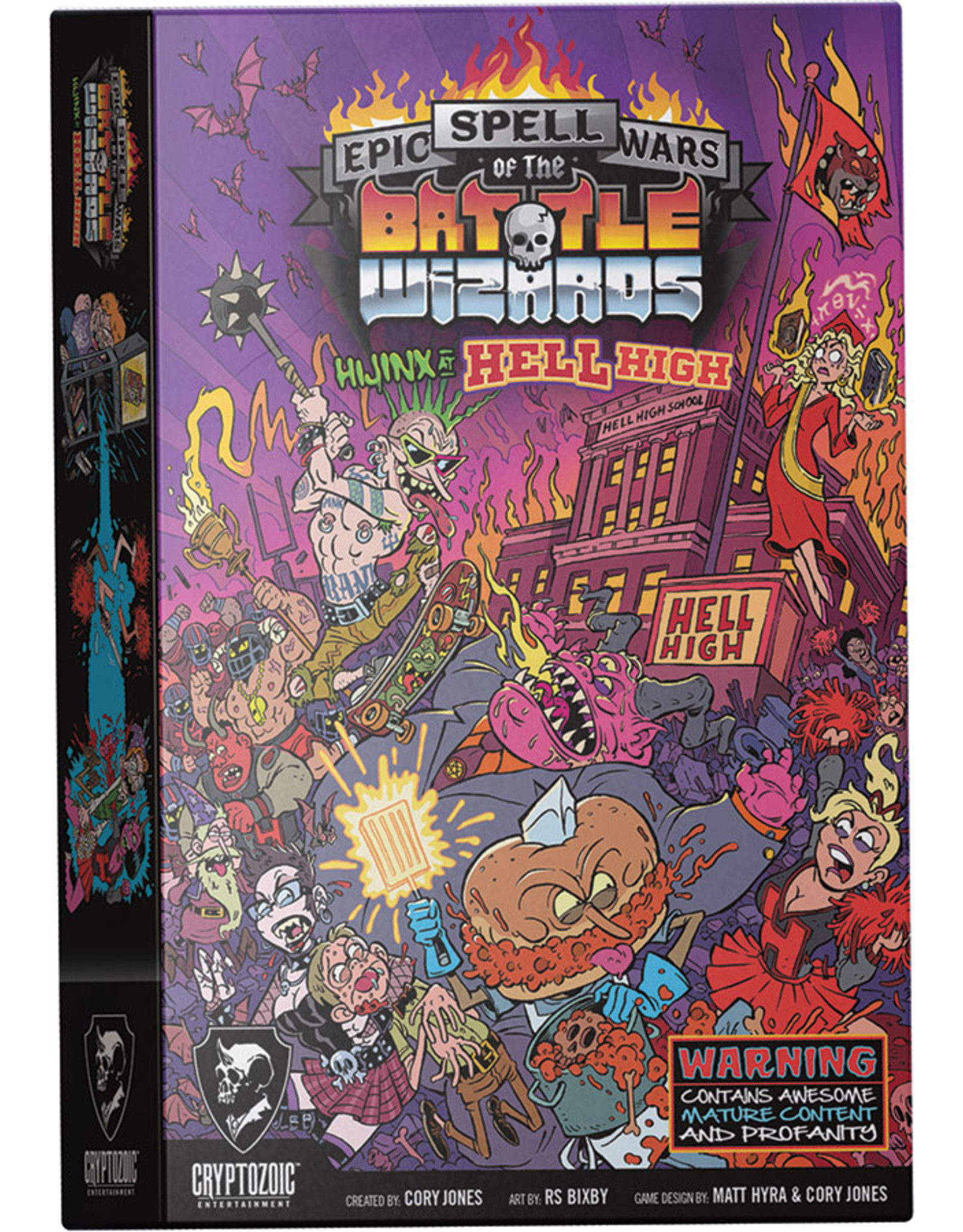 Cryptozoic Entertainment Epic Spell Wars of the Battle Wizards: 5 - Hijinx at Hell High (stand alone or expansion)