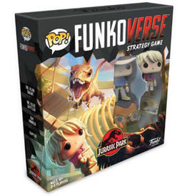 Funko Games POP! Funkoverse Strategy Game Jurassic Park 101 Expandalone