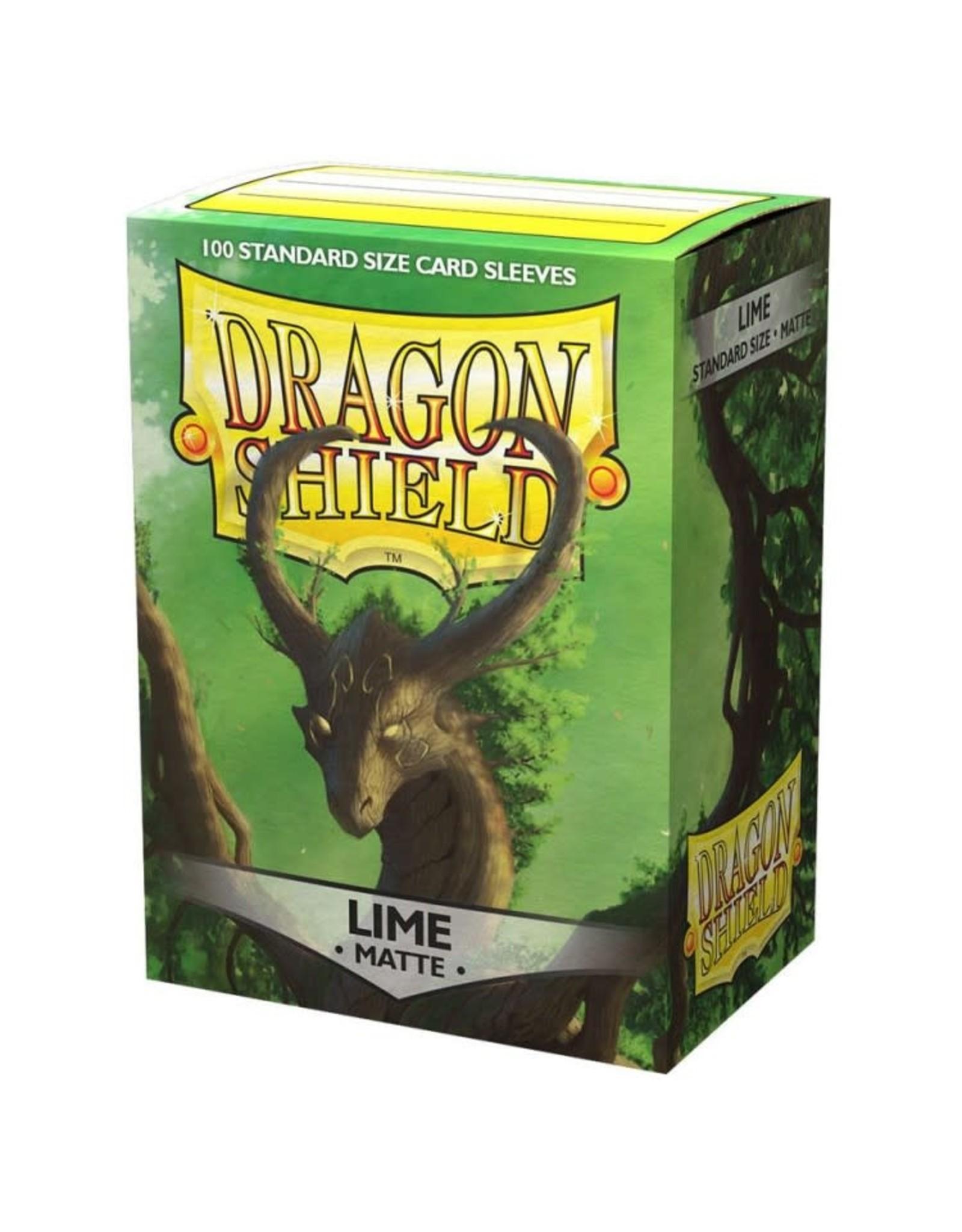 Dragon Shield DP: DS: Matte Lime (100)