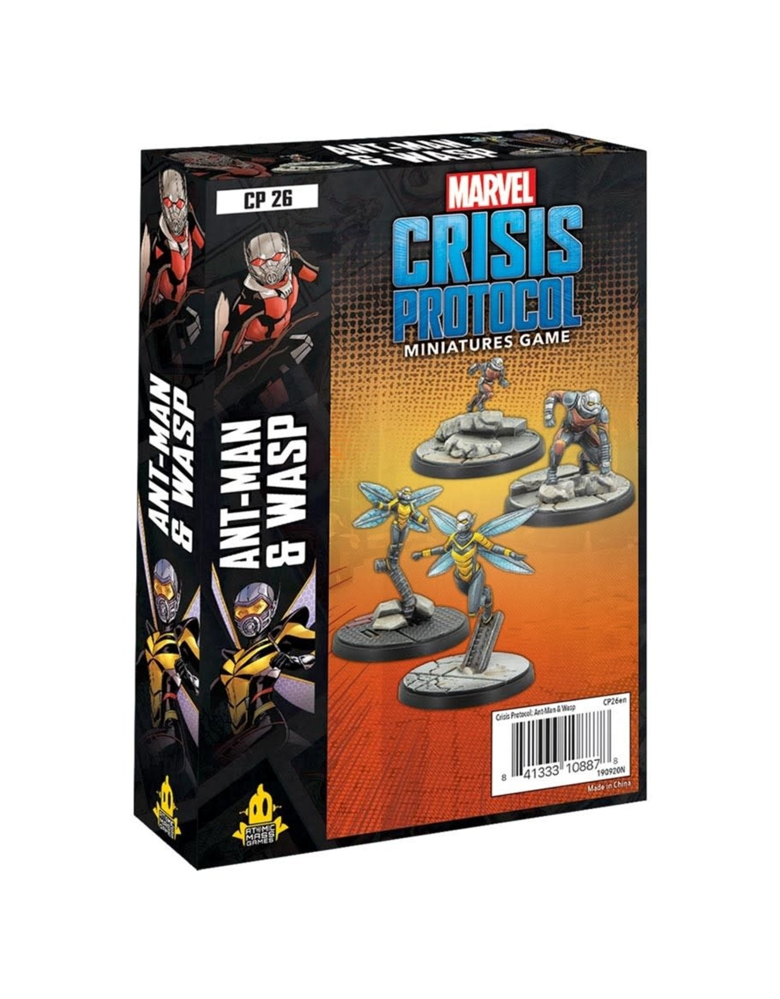 Atomic Mass Games Marvel Crisis Protocol: Ant Man & Wasp Character Pack