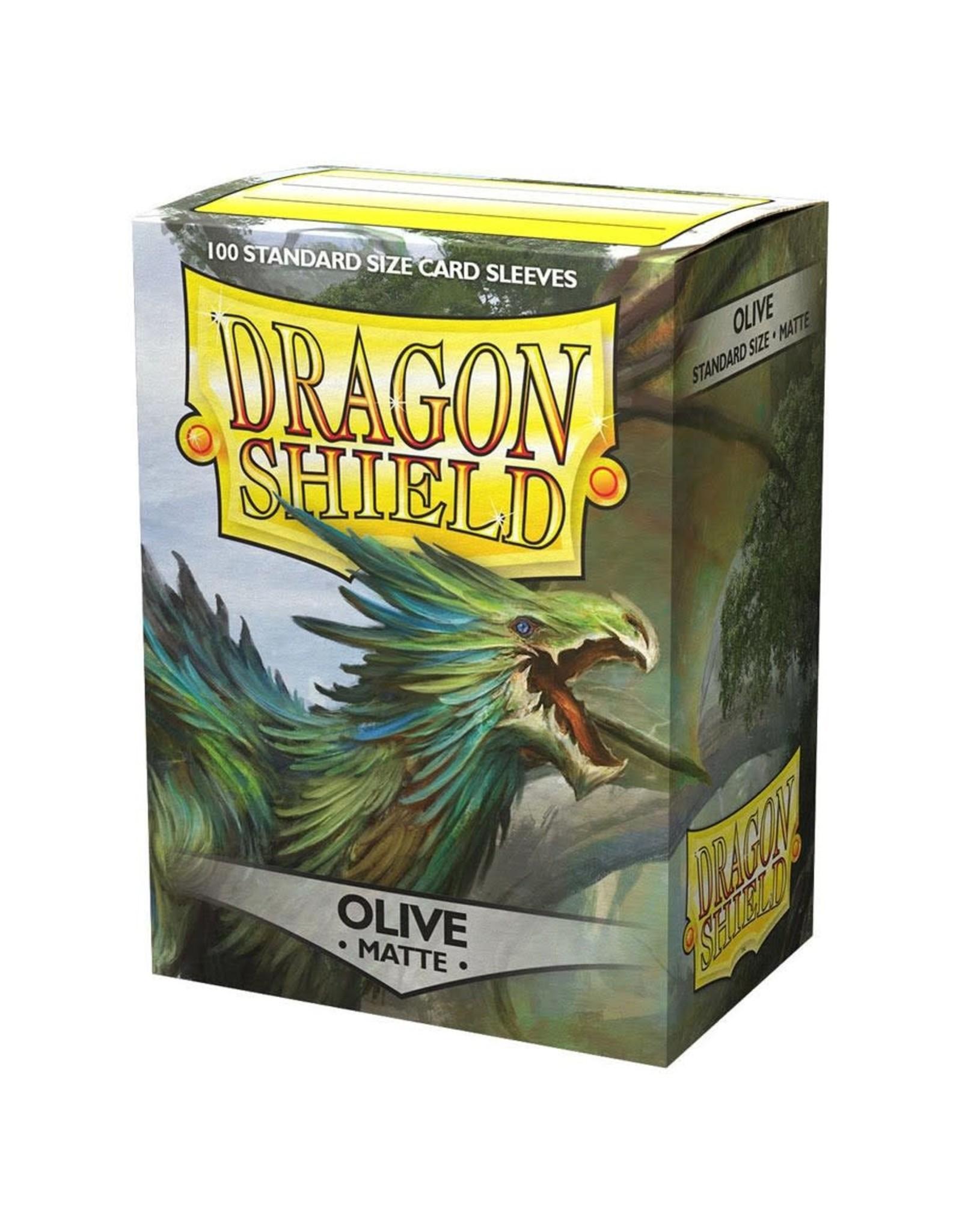 Dragon Shield Dragon Shields: (100) Matte Olive