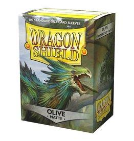 Dragon Shield DP: DS: Matte Olive (100)