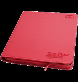 Ultimate Guard Ultimate Guard 12 Pkt ZipFoli Quad Row XenoSkin Red