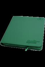 Ultimate Guard Ultimate Guard 12 Pkt ZipFoli Quad Row XenoSkin Green