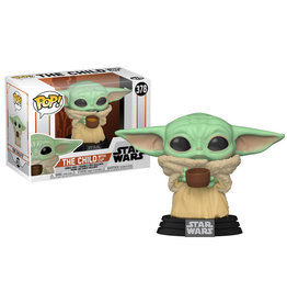 Funko Games POP! Star Wars The Child Baby Yoda w/Cup
