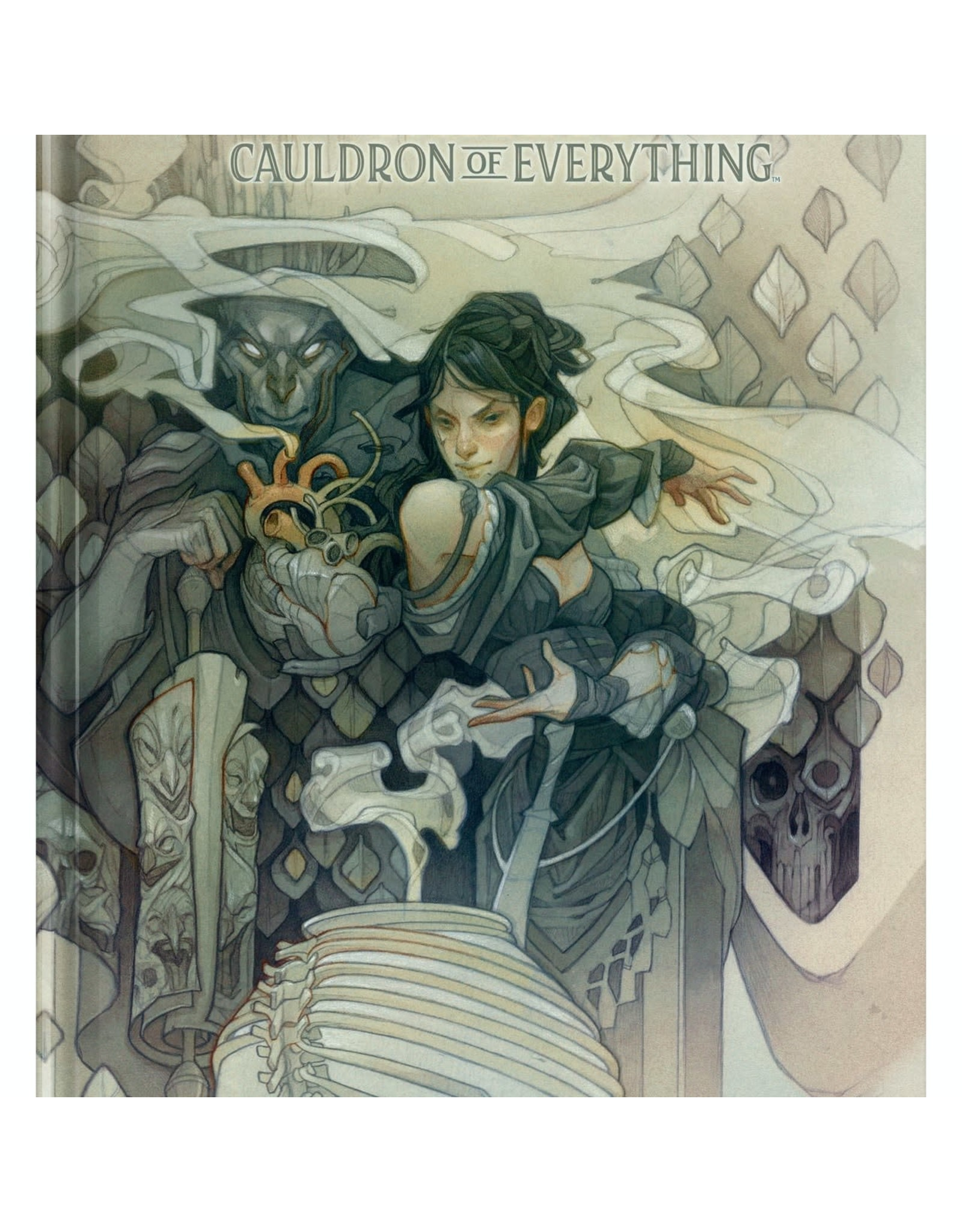 Wizards of the Coast Dungeons and Dragons RPG: Tasha`s Cauldron of Everything Alternate Cover (LE)
