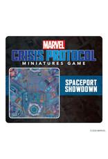 Atomic Mass Games Marvel Crisis Protocol: Spaceport Showdown Game Mat