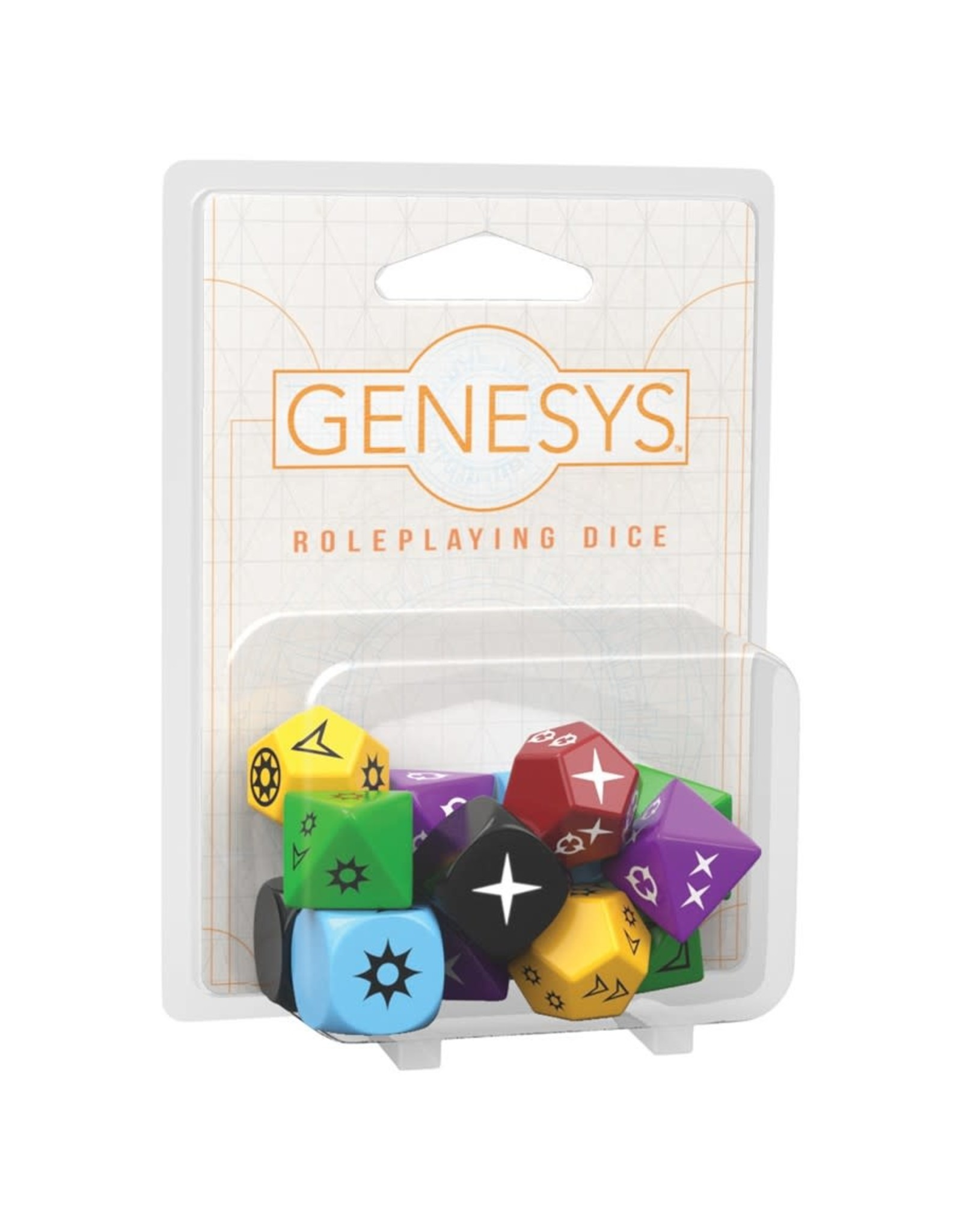 Fantasy Flight Games Genesys: Roleplaying Dice Pack