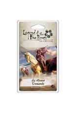 Fantasy Flight Games L5R LCG: As Honor Demands Dynasty Pack