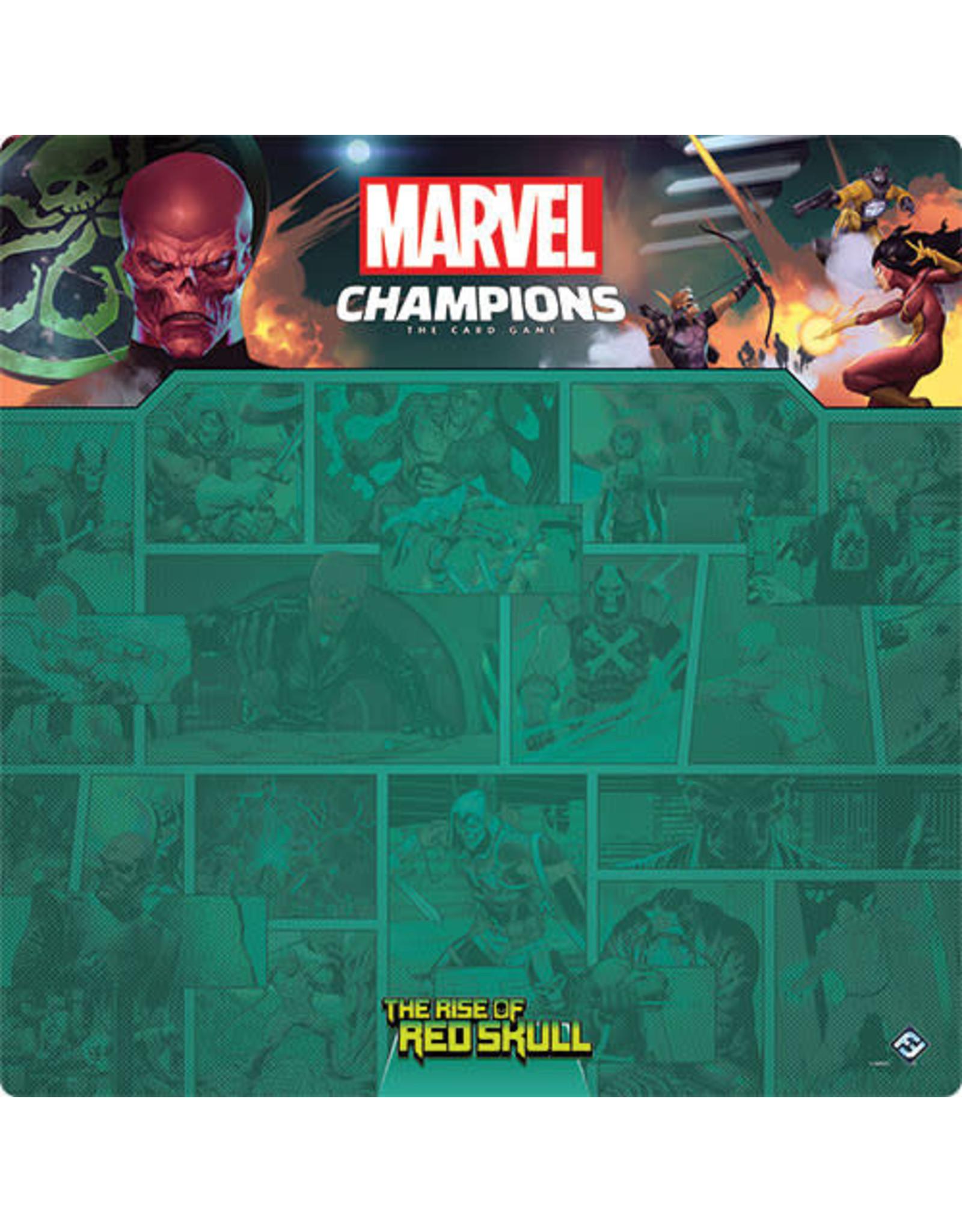 Marvel Champions LCG: Red Skull 1-4 Player Playmat