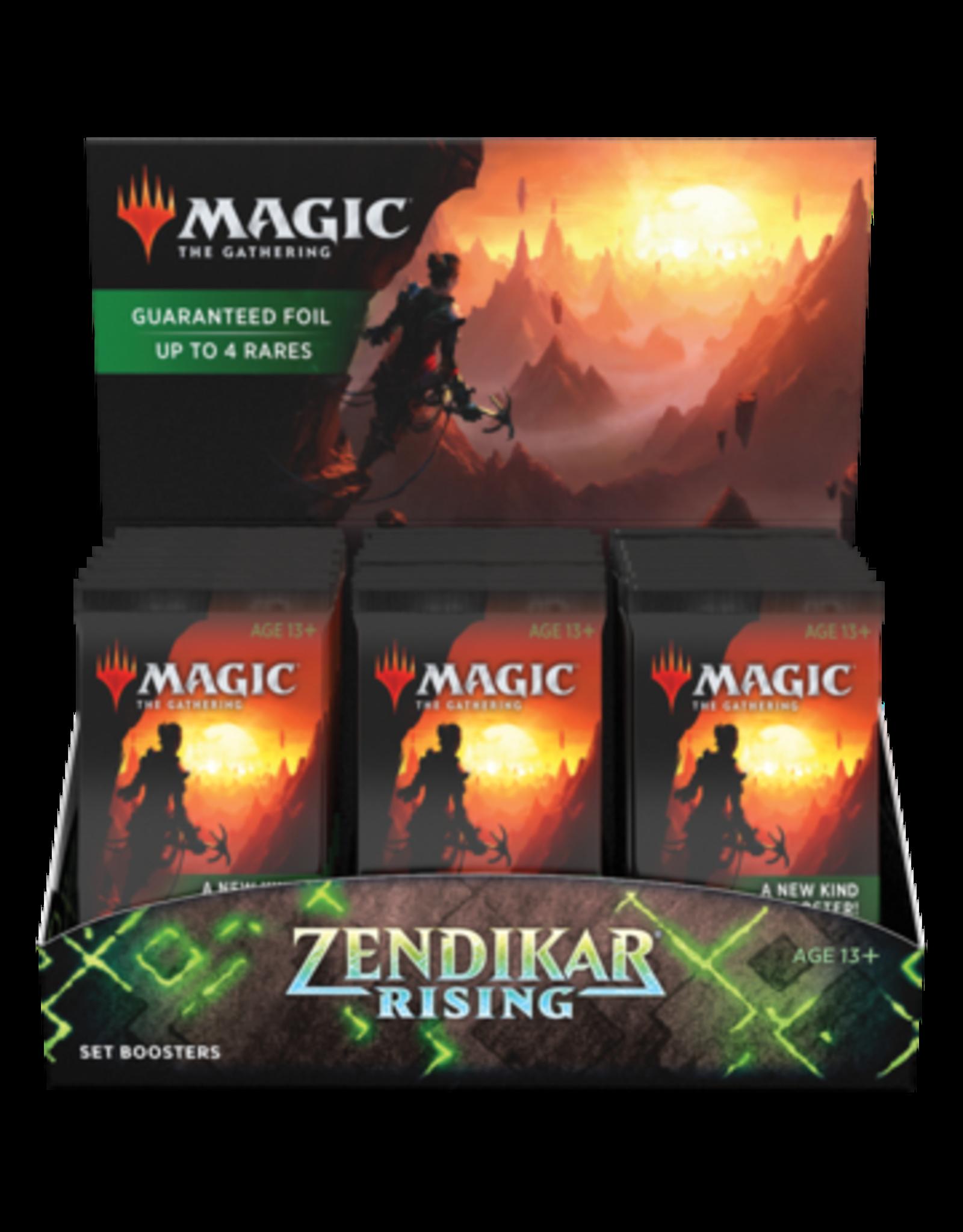 Wizards of the Coast MTG Zendikar RISING Set Booster Box