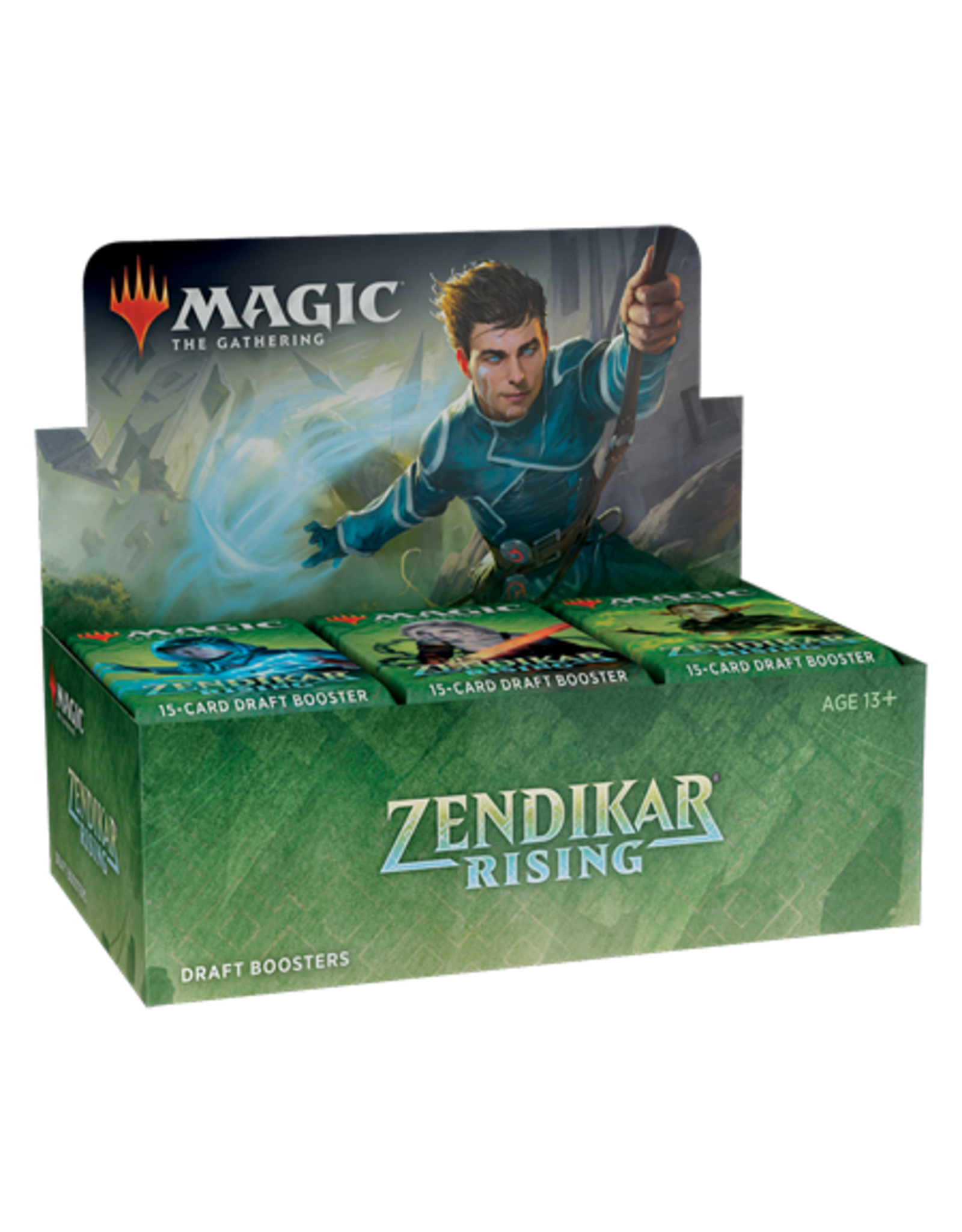 Wizards of the Coast Magic the Gathering: Zendikar Rising - Draft Booster Box