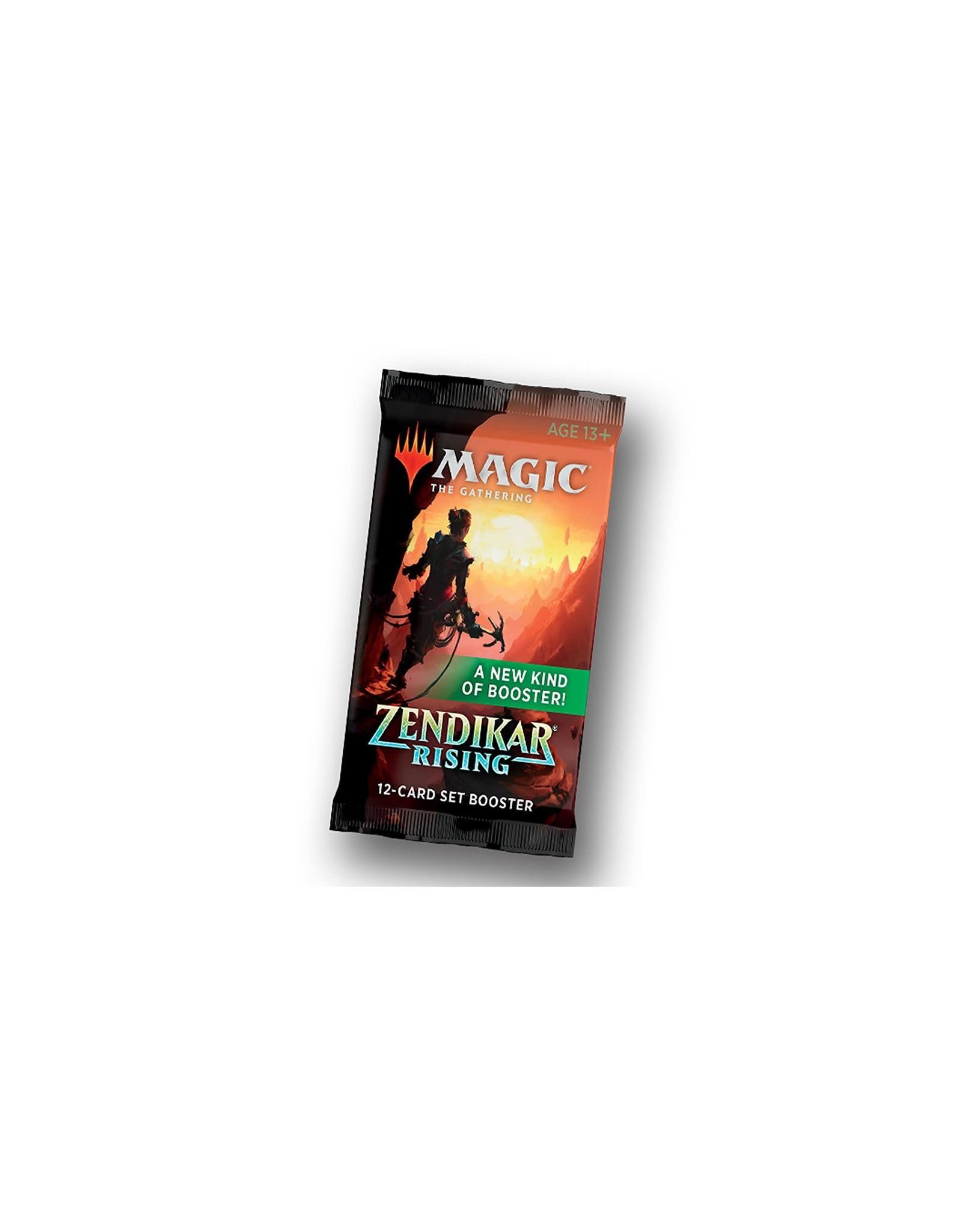 Wizards of the Coast MTG Zendikar RISING Set Booster Pack