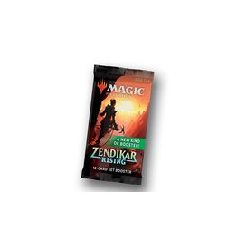 Wizards of the Coast MTG Zendikar RISING Set Booster Pack
