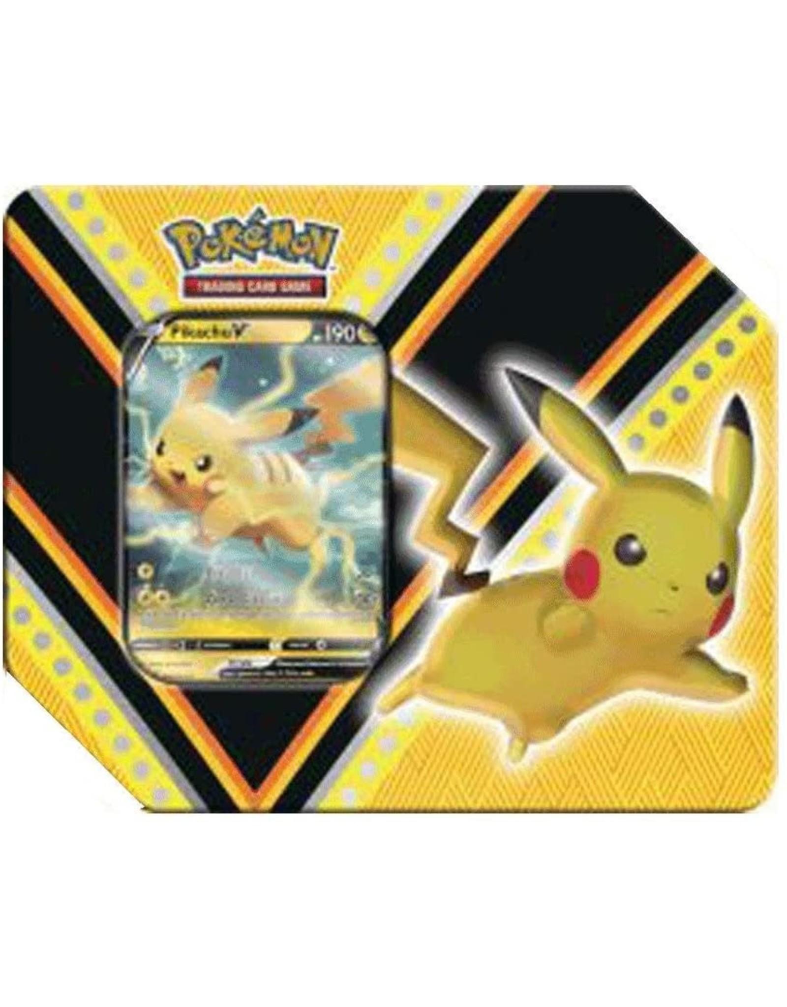 The Pokemon Company Pokemon V Power Tin Pikachu V