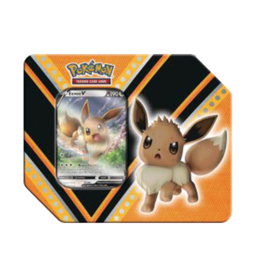 The Pokemon Company Pokemon V Power Tin featuring Eevee V
