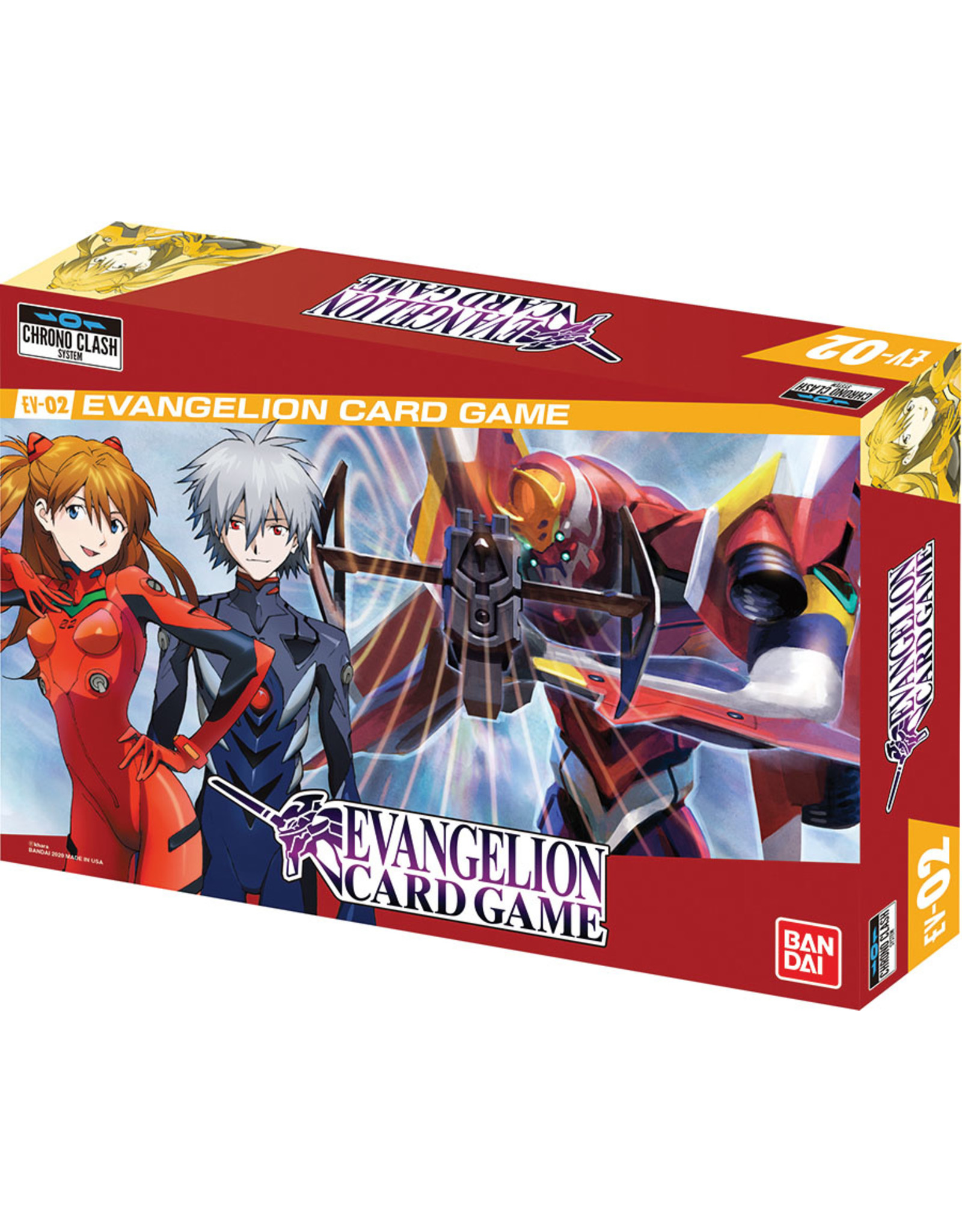 Bandai Evangelion Card Game [EV02]