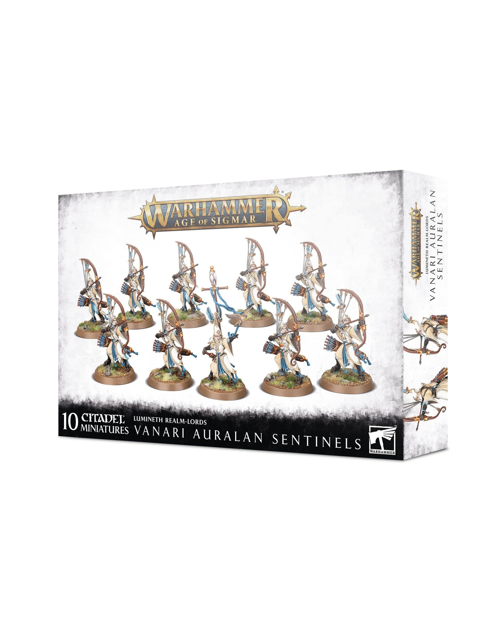 Games Workshop Lumineth Realm Lords Vanari Auralan Sentinels