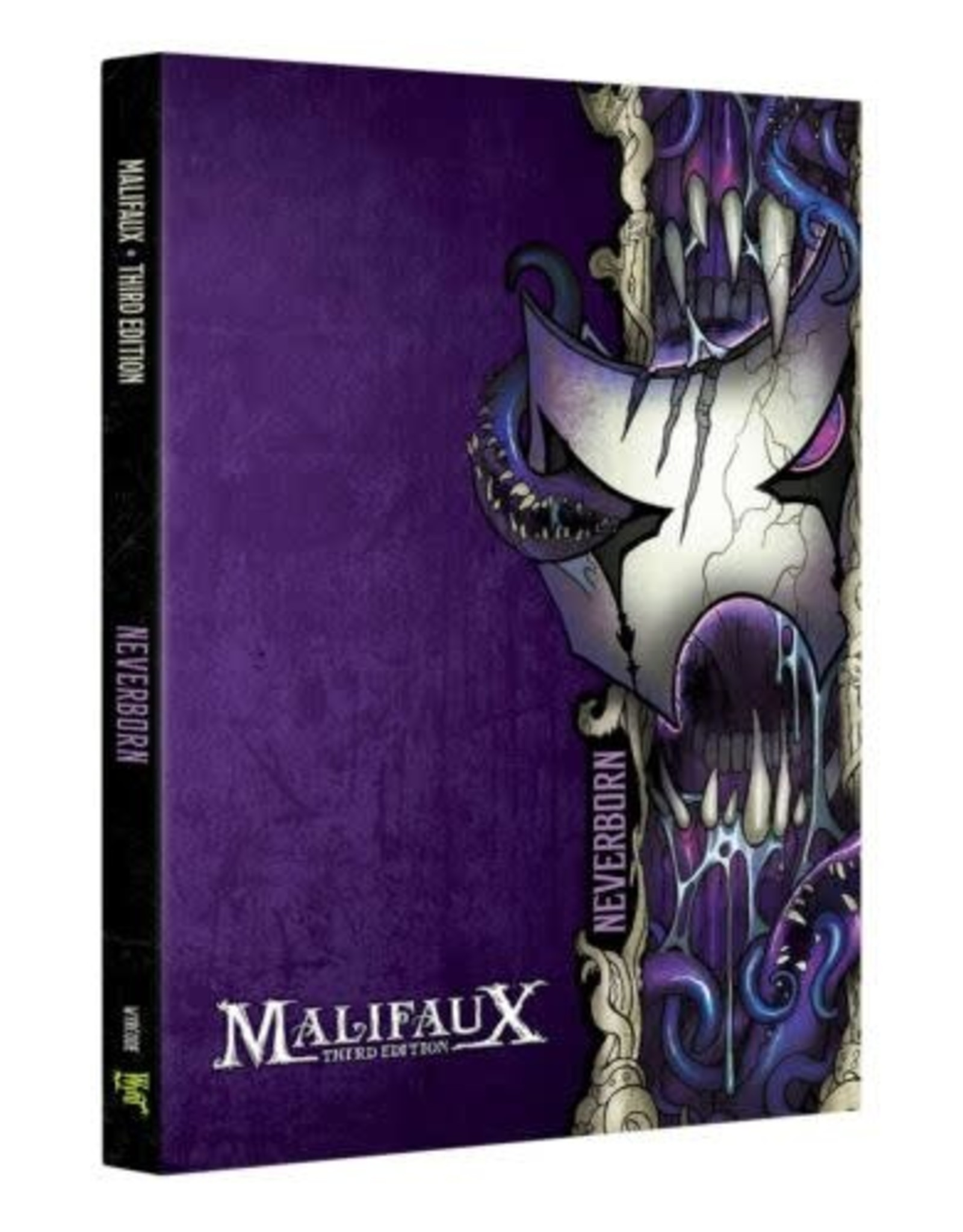 Wyrd Games MALIFAUX 3RD EDITION: NEVERBORN FACTION BOOK