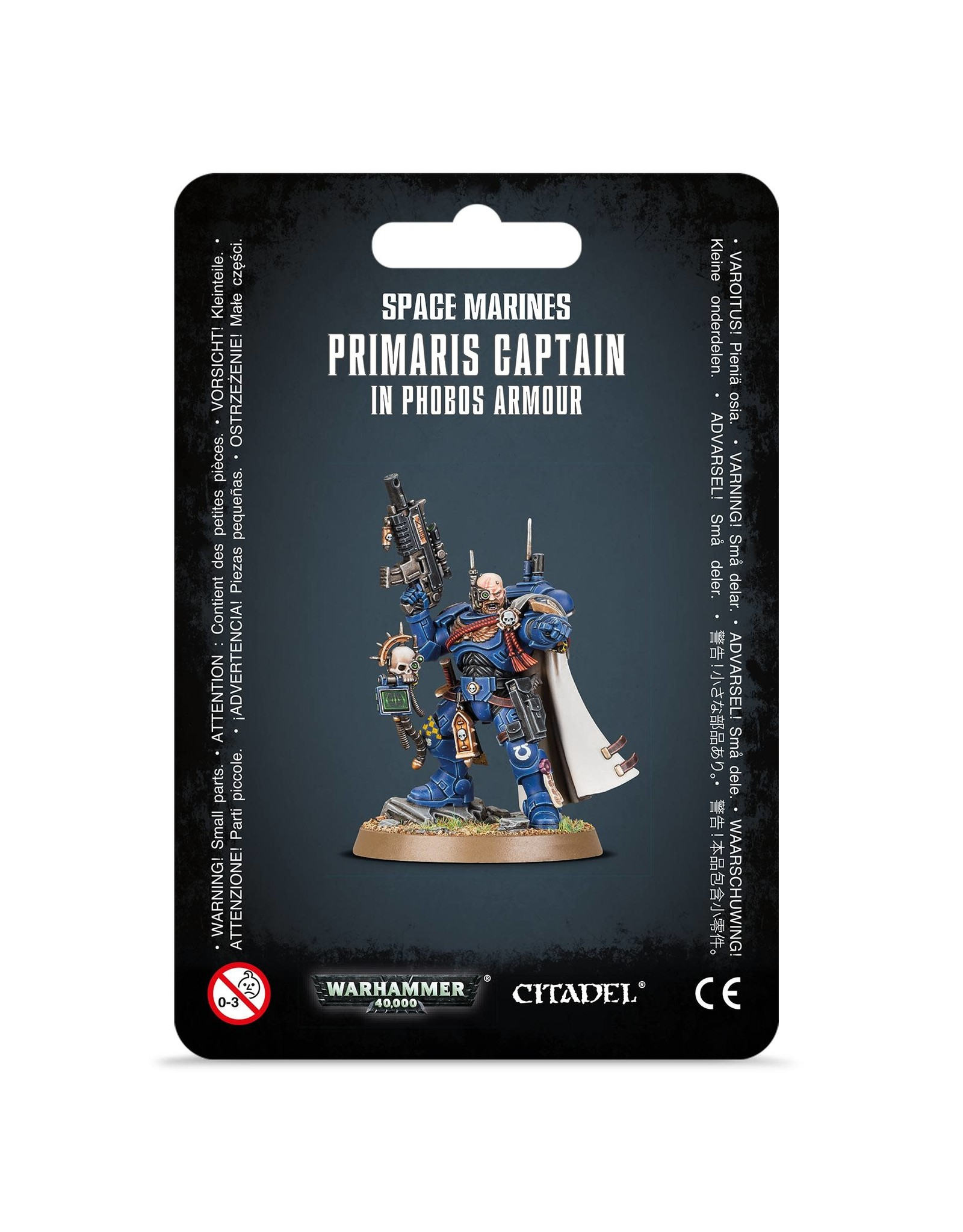 Games Workshop Primaris Captain in Phobos Armour