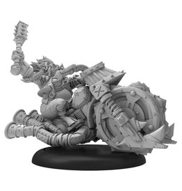 Privateer Press RQ: Scout: Helga on Wheels (metal)