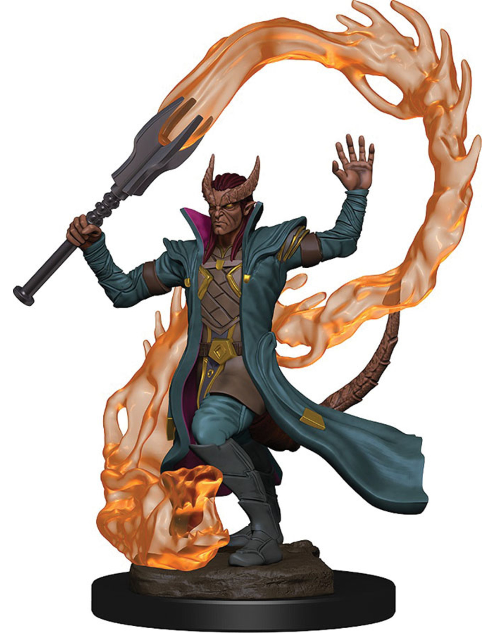 WizKids Dungeons & Dragons Icons of the Realms Premium Figures: W1 Tiefling Male Sorcerer