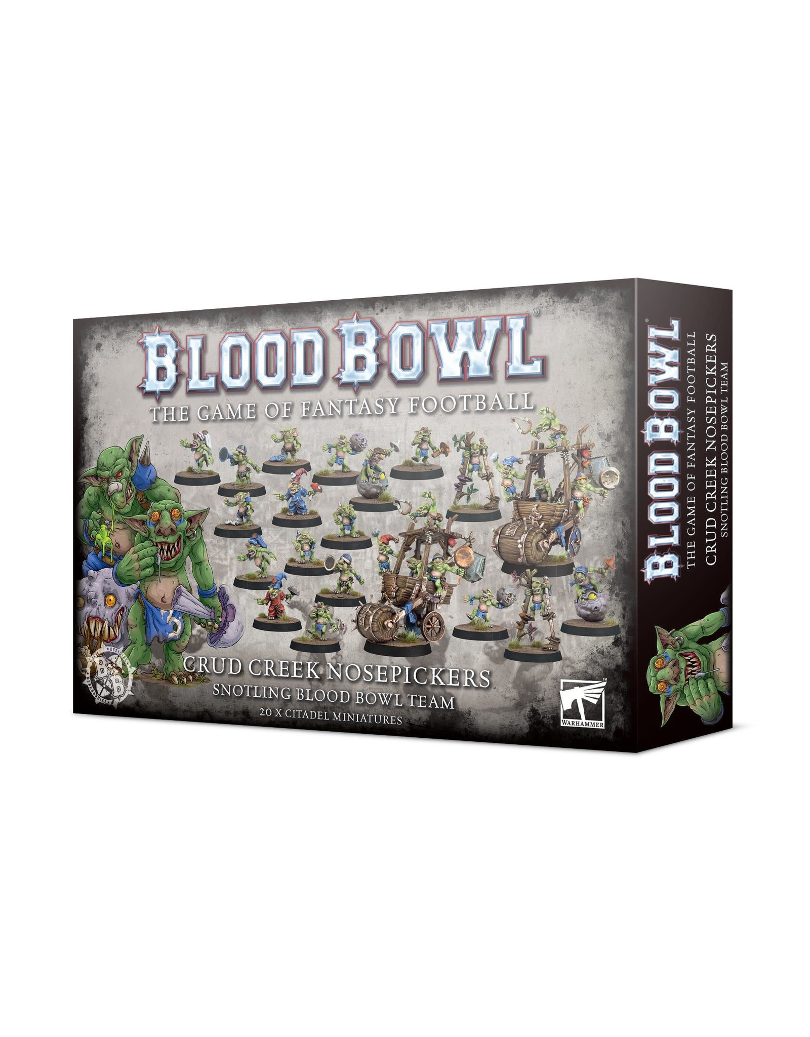 Games Workshop Crud Creek Nosepickers – Snotling Blood Bowl Team
