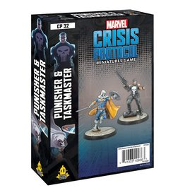 Atomic Mass Games Marvel Crisis Protocol: Punisher and Taskmaster Pack