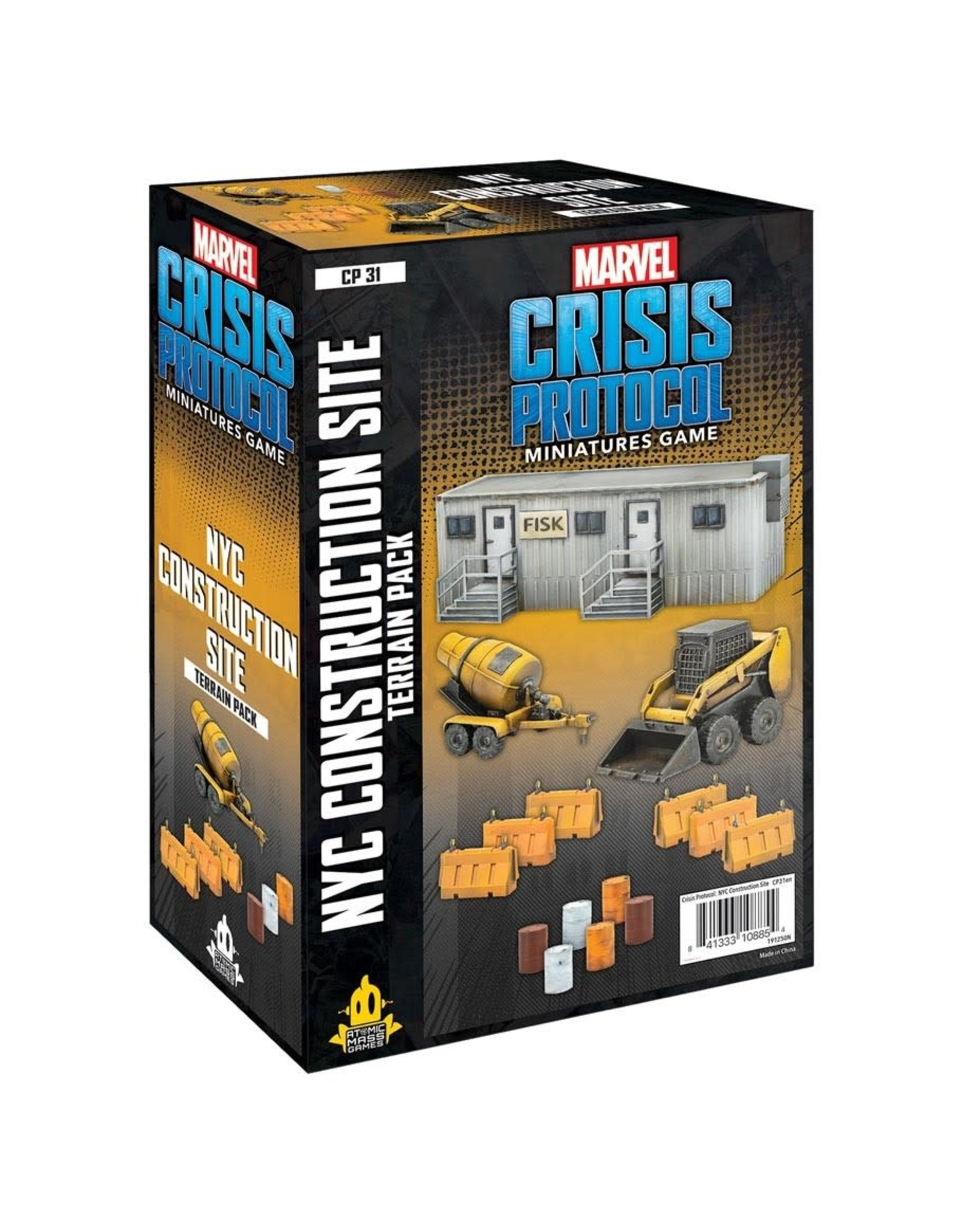 Atomic Mass Games Marvel CP: NYC Construction Terrain Pack