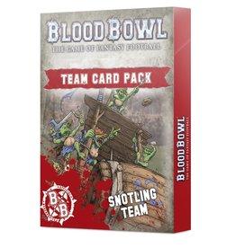 Games Workshop Blood Bowl Snotling Team Card Pack