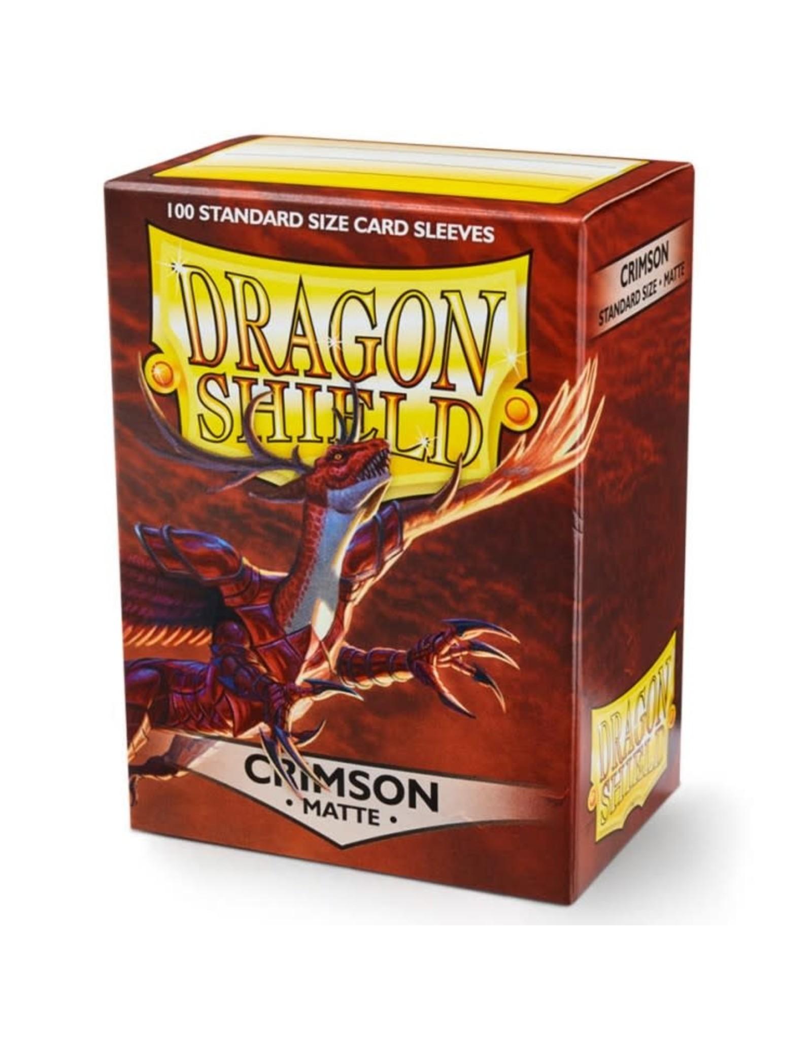 Dragon Shield Dragon Shields: (100) Matte Crimson