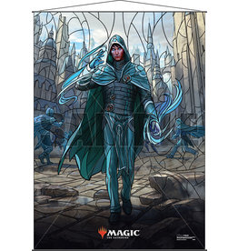 Ultra Pro Magic the Gathering: Stained Glass Wall Scroll - Jace