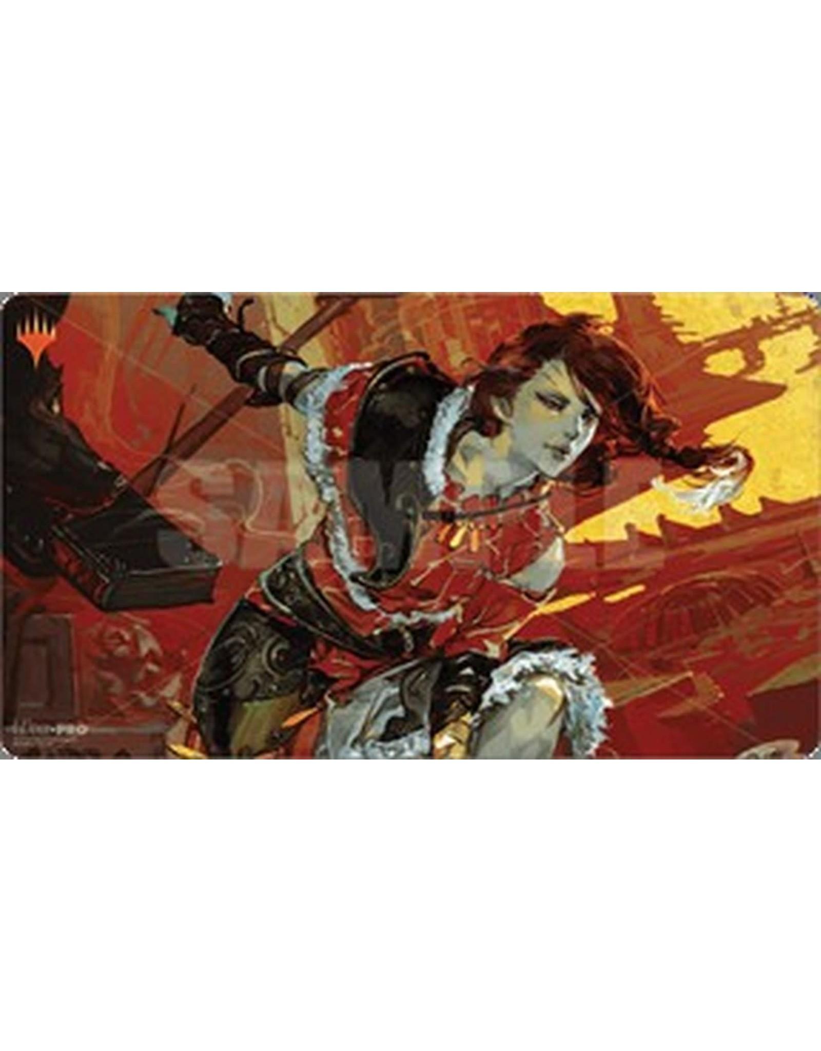 Ultra Pro Magic the Gathering: War of the Spark Japanese Alt. Art Play Mat - Arlinn Kord