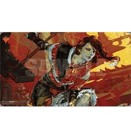 Ultra Pro Magic the Gathering: War of the Spark Japanese Alt. Art Play Mat - Arlinn Kord
