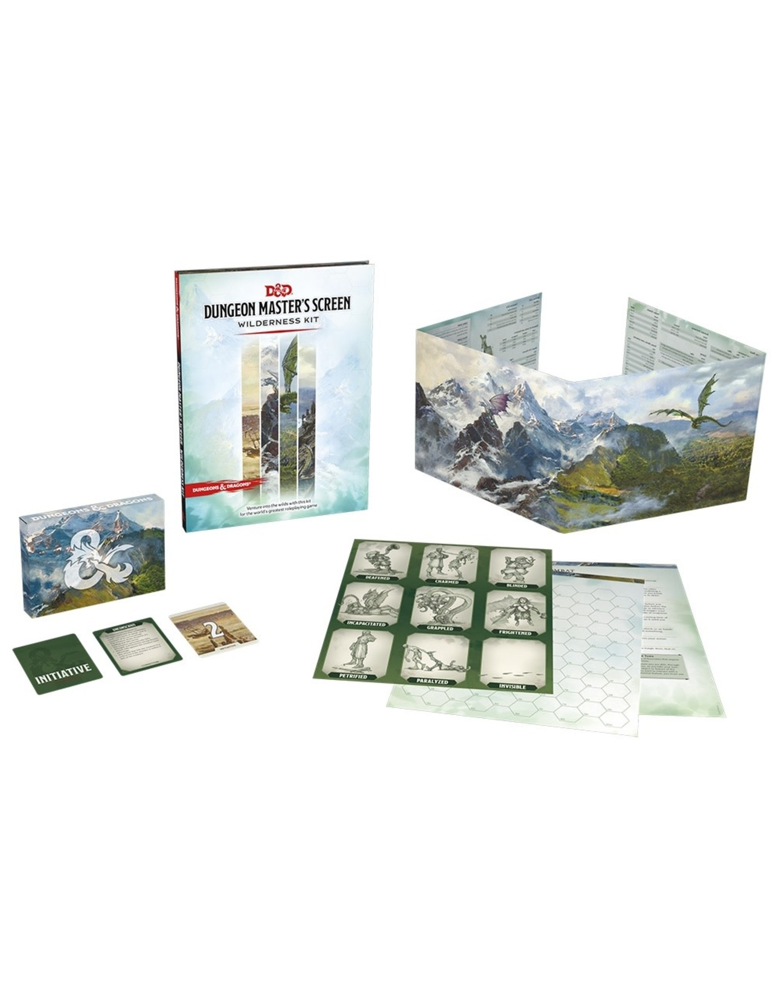 Wizards of the Coast Dungeons and Dragons RPG: Dungeon Master`s Screen Wilderness Kit