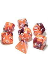 Chessex 7-setCube Lab Dice Gemini ORPUwh