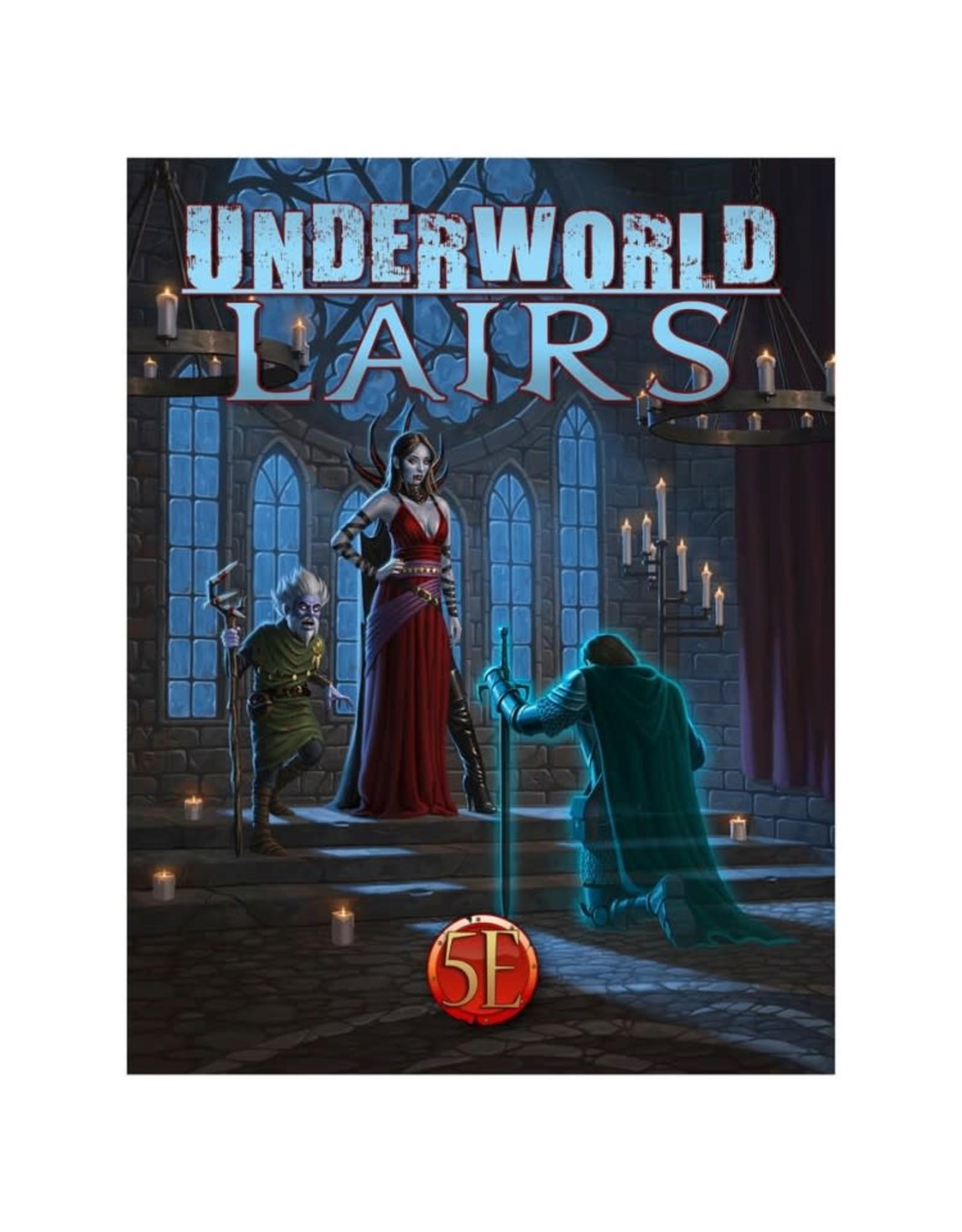 Kobold Press 5E: Underworld: Lairs
