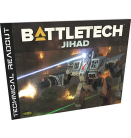 Catalyst Game Labs BattleTech: Technical Readout Jihad