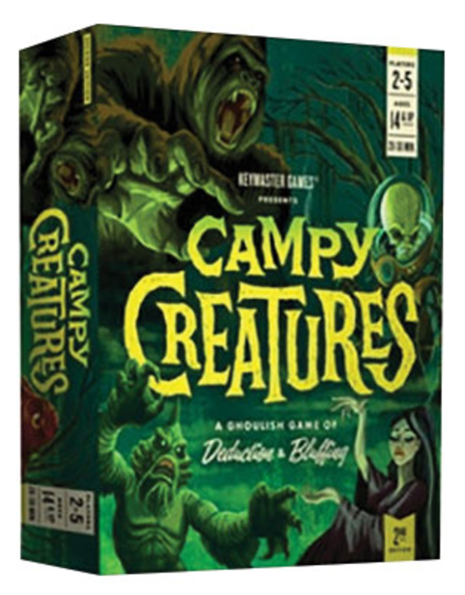 Keymaster Games Campy Creatures 2nd Edition